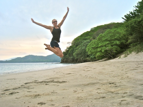 kimberly jumps, costa rica, travel