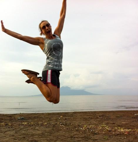 kimberly jumps, nicaragua, volcano