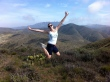 kimberly-jumps-malibu-hike-two